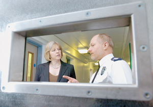 Custody suite at Maidenhead Police Station