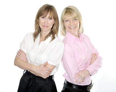 Karen Gill and Maxine Benson of everywoman
