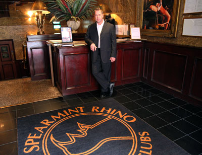 John at Spearmint Rhino, London