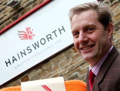 Tom Hainsworth, MD of Hainsworth