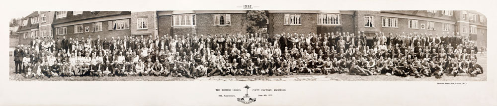 1932 - The Poppy Factory 10th Anniversary