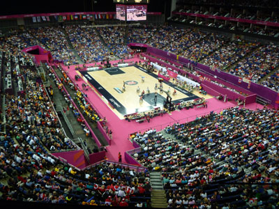 Paralympic wheelchair basketball - picture (c) J Prentis