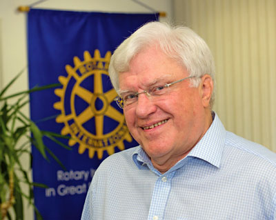John Minhinick, President, Rotary International