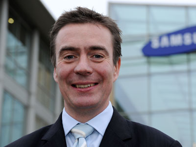 Graham Long, Vice President, Samsung UK
