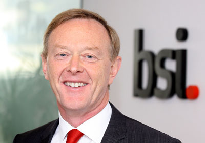 Howard Kerr, Chief Executive, BSI