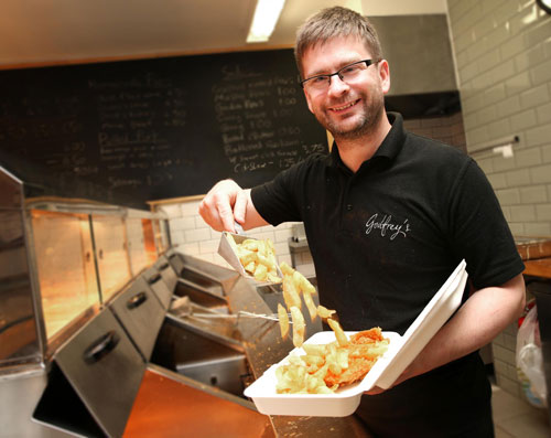 Luke Godfrey, Owner, Godfreys Fish and Chips